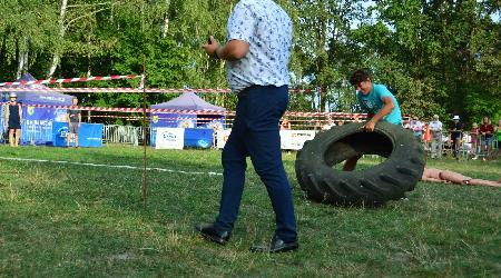 Mezinárodní soutěž koněspřežných stříkaček v Polsku